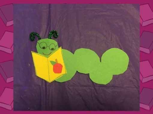 DIY Craft | Make a Bookworm with Us!