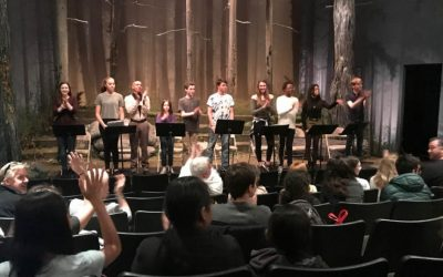 Acting in NYCCT's Middle School Playwriting Competition