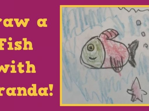 Draw a Fish with Miranda!