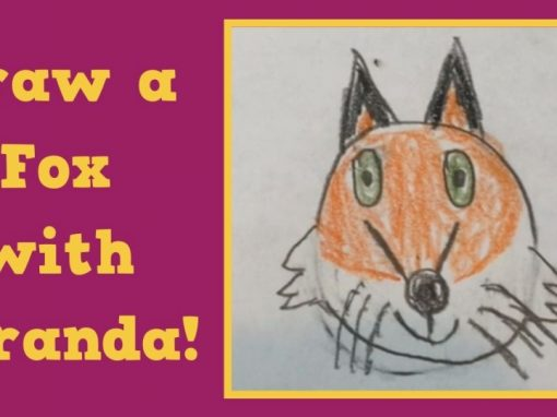 Draw a Fox with Miranda!