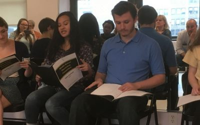 Acting in the Middle School Playwriting Competition