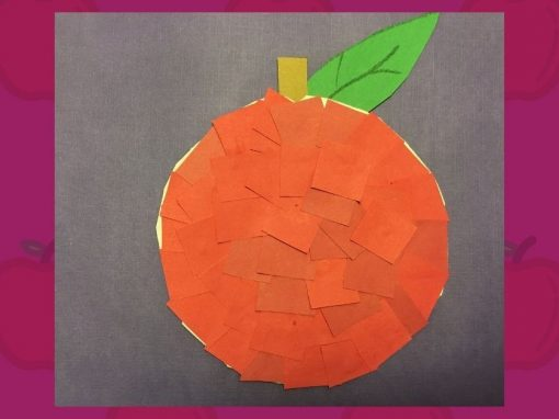 DIY Craft | Make a Mosaic Apple with Us!