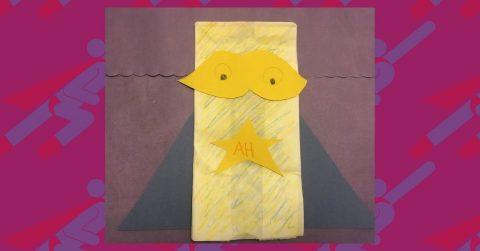 Make a Paper Bag Superhero with Us!