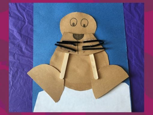 Make a Paper Walrus with Us!