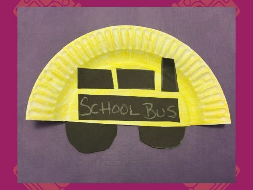DIY Craft | Make a Paper Plate School Bus with Us!