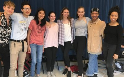 Acting in the Middle School Playwriting Competition by Claire F.