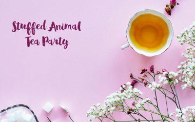My Stuffed Animal Tea Party