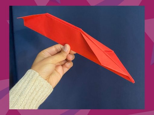 Make a Paper Plane with Us!