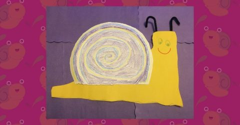 Make a Paper Plate Snail with Us!