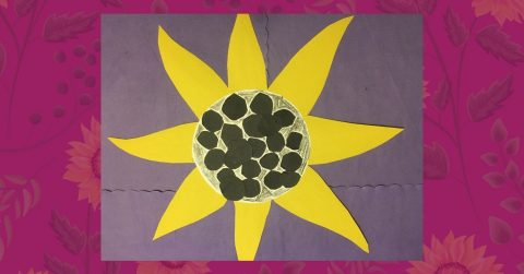 Make a Paper Plate Sunflower with Us!